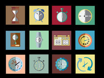 Timer Set Icon Vector Illustration Royalty Free Stock Photography
