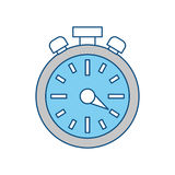 Timer watch symbol Stock Photography