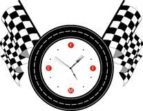 TimeRacetrack Royalty Free Stock Image
