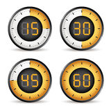 Timers Royalty Free Stock Photos