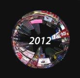 Times Circle 2012 Stock Image