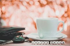 Times of coffee,Coffee break.  royalty free stock images