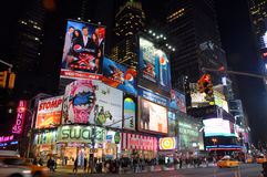 times den nya nattfyrkanten för staden york Royaltyfria Bilder