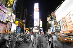 Times Sqaure in New York royalty free stock image