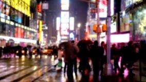 Times Square à New York banque de vidéos