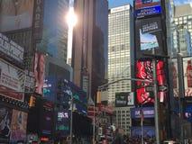 Times Square à New York Photo stock