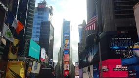 Times Square, δημοφιλής θέση Νέα Υόρκη απόθεμα βίντεο