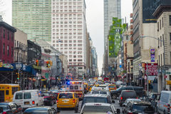 Times Square Νέα Υόρκη - το Φεβρουάριο του 2016 Στοκ Εικόνες