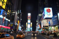 Times Square Νέα Υόρκη Στοκ εικόνες με δικαίωμα ελεύθερης χρήσης