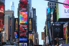 Times Square - Νέα Υόρκη Στοκ Εικόνα