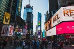 Times Square στοκ φωτογραφίες με δικαίωμα ελεύθερης χρήσης