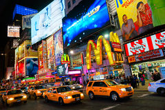 Times Square, πόλη της Νέας Υόρκης, ΗΠΑ. στοκ φωτογραφία