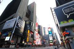 Times Square. Famouse Times Square in New York City royalty free stock photos