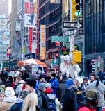 Times Square Royalty-vrije Stock Foto