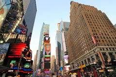 Times Square. Famous Times Square New York City royalty free stock image