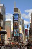 Times Square in 2011, New York City Royalty Free Stock Images