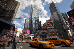Times Square in 2011, New York City Royalty Free Stock Photo