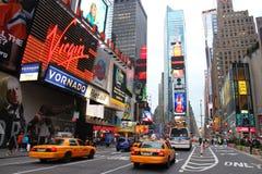Times Square Νέα Υόρκη Στοκ Εικόνες