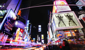 Times Square Foto de Stock Royalty Free