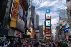 Times Square Fotografia Royalty Free