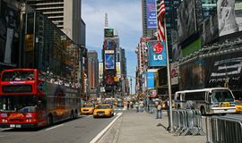 The Times Square. In New York City stock image