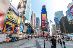 Times Square Fotos de Stock Royalty Free