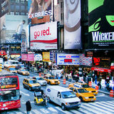 Times Square lizenzfreies stockbild