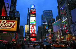 The Times Square Stock Photos