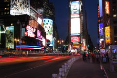 Times Square. In New York City Stock Photography