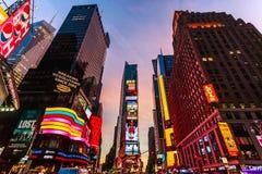Times Square Fotos de Stock Royalty Free