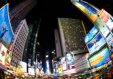 Times Square Stock Foto's