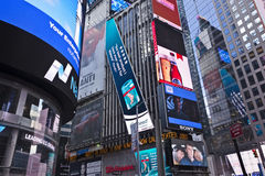 Times Square Stockbild