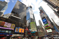 Times Square, 7de Ave, de Stad van New York Stock Afbeeldingen