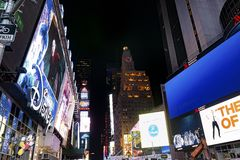 Times Square Royalty-vrije Stock Afbeelding