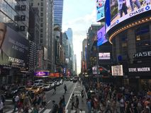 Times Square photographie stock libre de droits