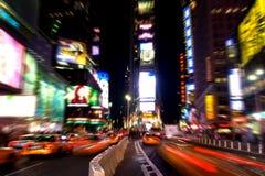 Times Square alla notte #3 Immagini Stock Libere da Diritti