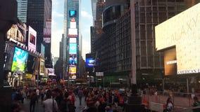 Times Square-Bau Lizenzfreies Stockbild
