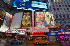 Times Square Billboards Stock Photography
