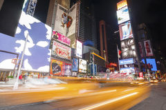 Times Square and Broadway Theaters, New York, USA Royalty Free Stock Photography