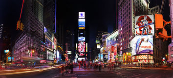 Free Times Square By Night Stock Image - 9383331
