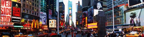 Times Square che affronta sud Fotografia Stock Libera da Diritti