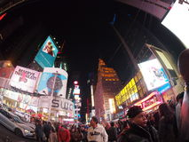 Times Square Crossroads. Of the world at night stock photos