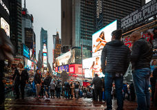 Times Square dans NYC Photos stock