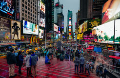 Times Square dans NYC Images stock