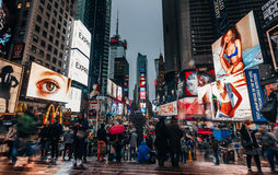 Times Square dans NYC Image stock