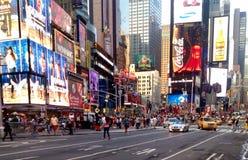 Times Square dans NYC, Etats-Unis Photos libres de droits