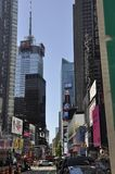 New York City, 2nd July: Times Square on daytime in Midtown Manhattan from New York City in United States Stock Photo