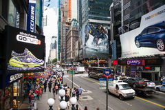 Times square daytime Stock Photos