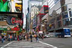 Times square daytime Royalty Free Stock Photography