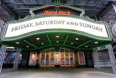 Times Square de Hard Rock Cafe Imagen de archivo libre de regalías
